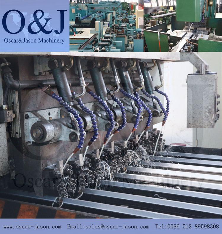 Machined Guide Rail T140-3B